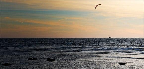kitesurfning